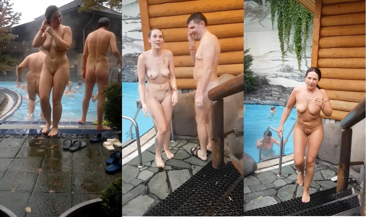 Voyeur sauna in nackt der Sauna: 108