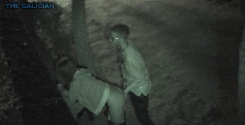Crawling fu10 night Voyeur public